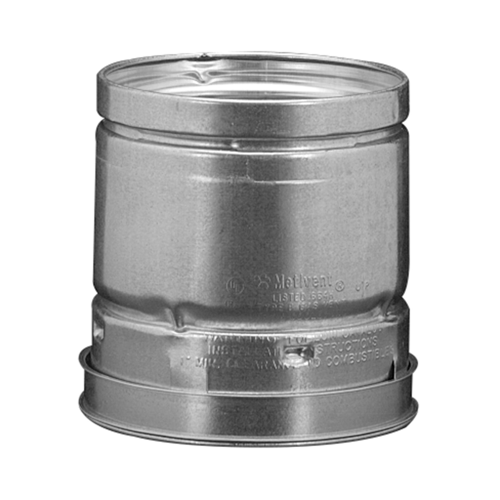 "Hart & Cooley 016006 - B-Vent Round Pipe, 3"" X 12"""