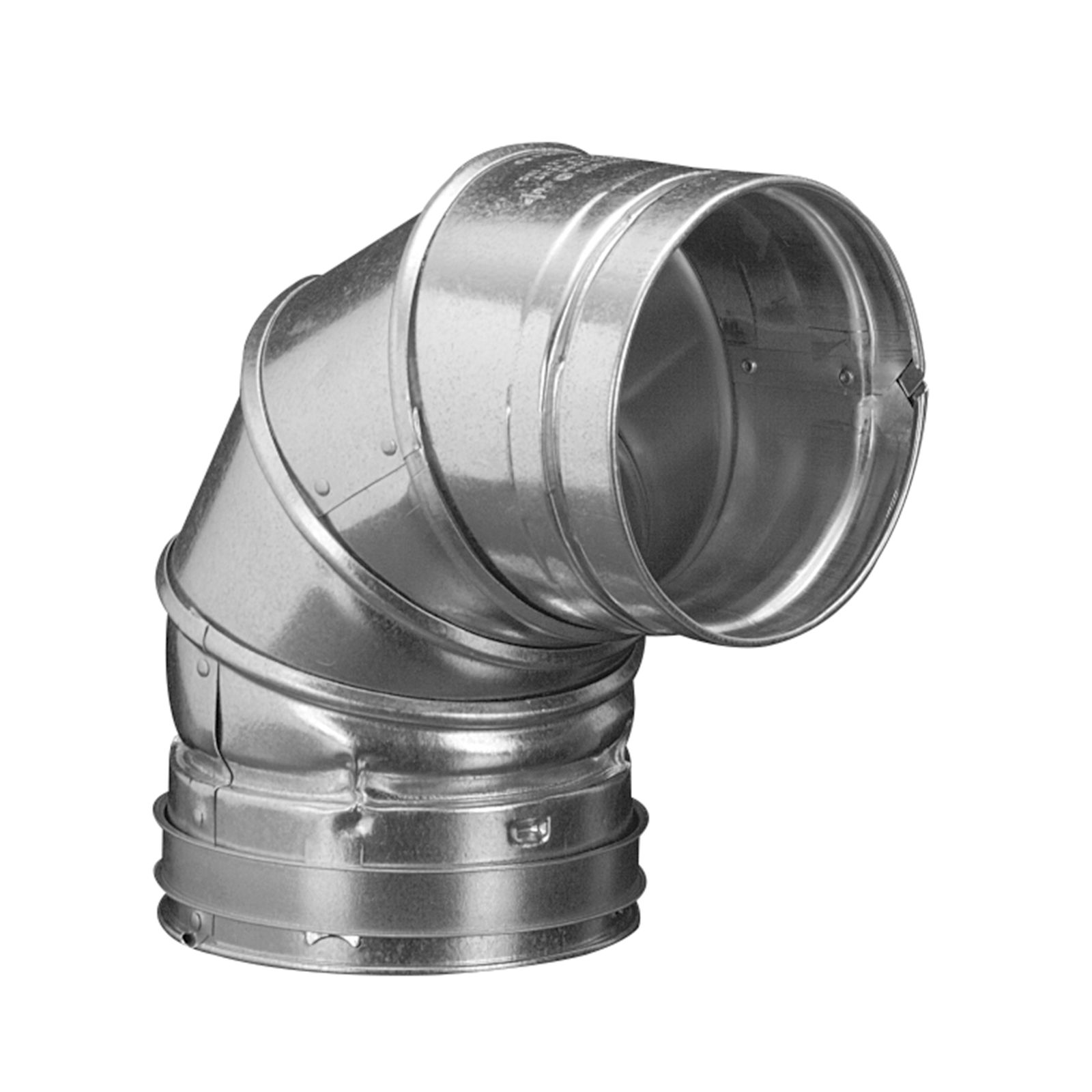Hart & Cooley 016009 - B-Vent 90-Degree Adjustable Elbow, 3""