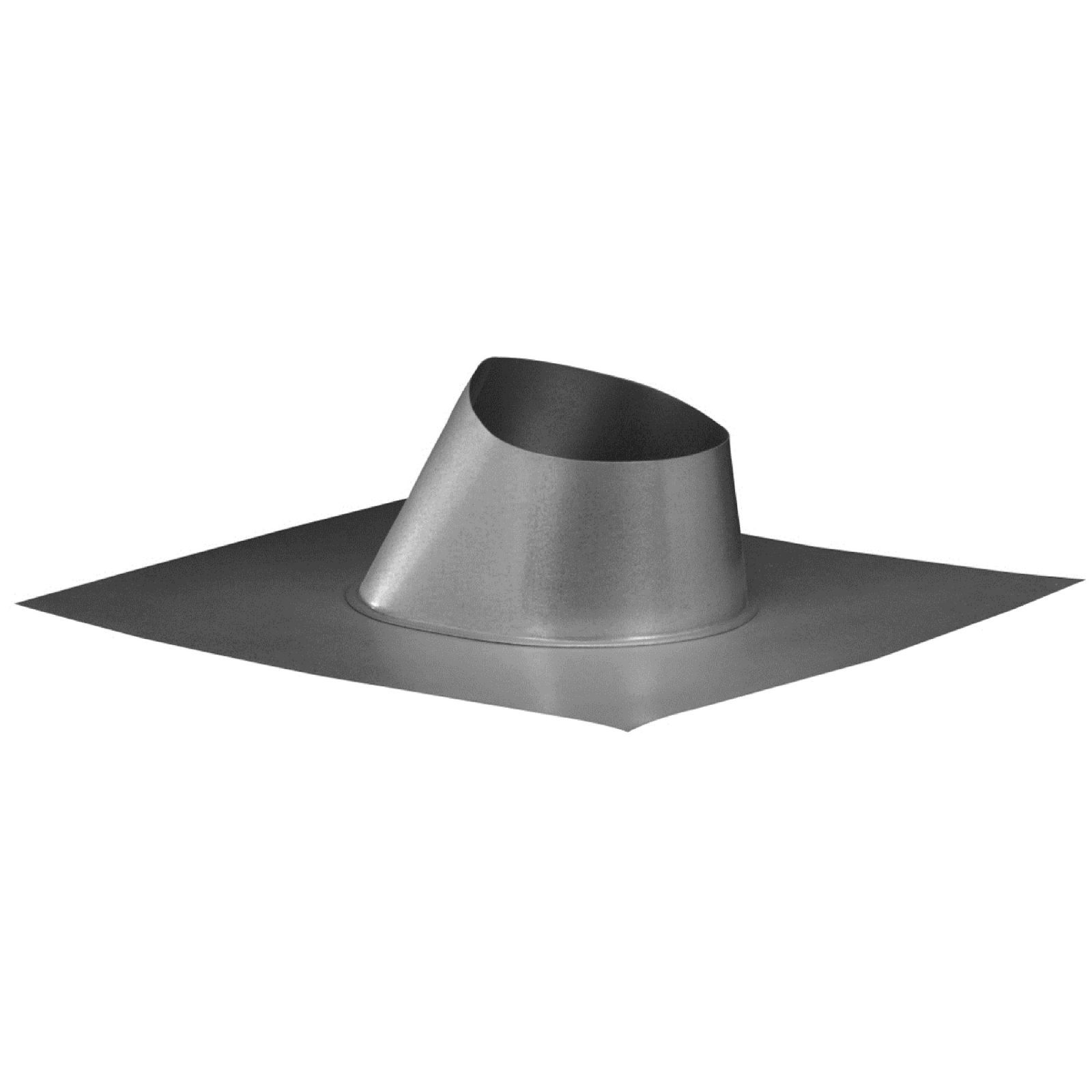 Hart & Cooley 016117 - Adjustable Roof Flashing (0-6/12 Pitch), 4""