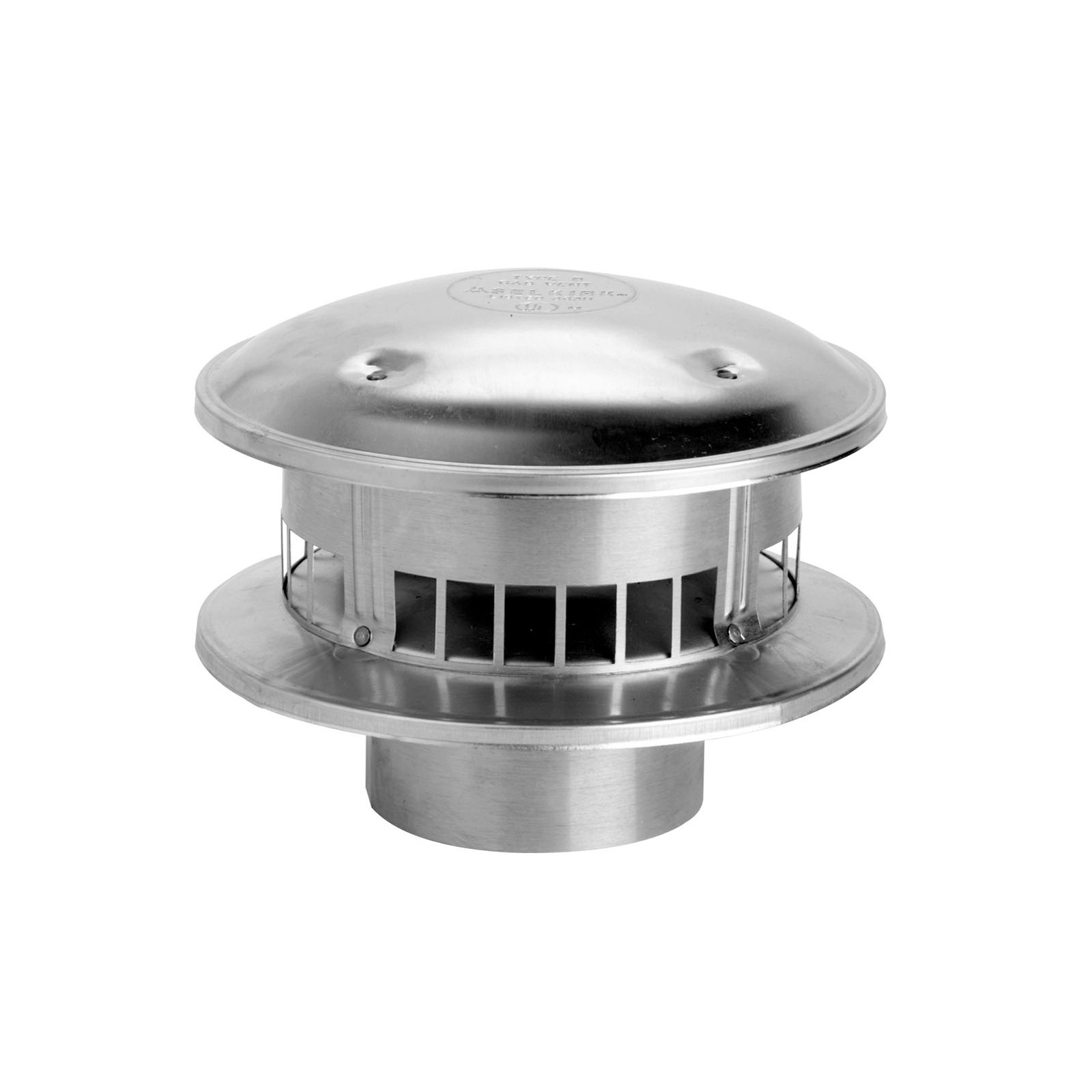 Selkirk 5RV-RT  - Type B Gas Vent Cap, 5""