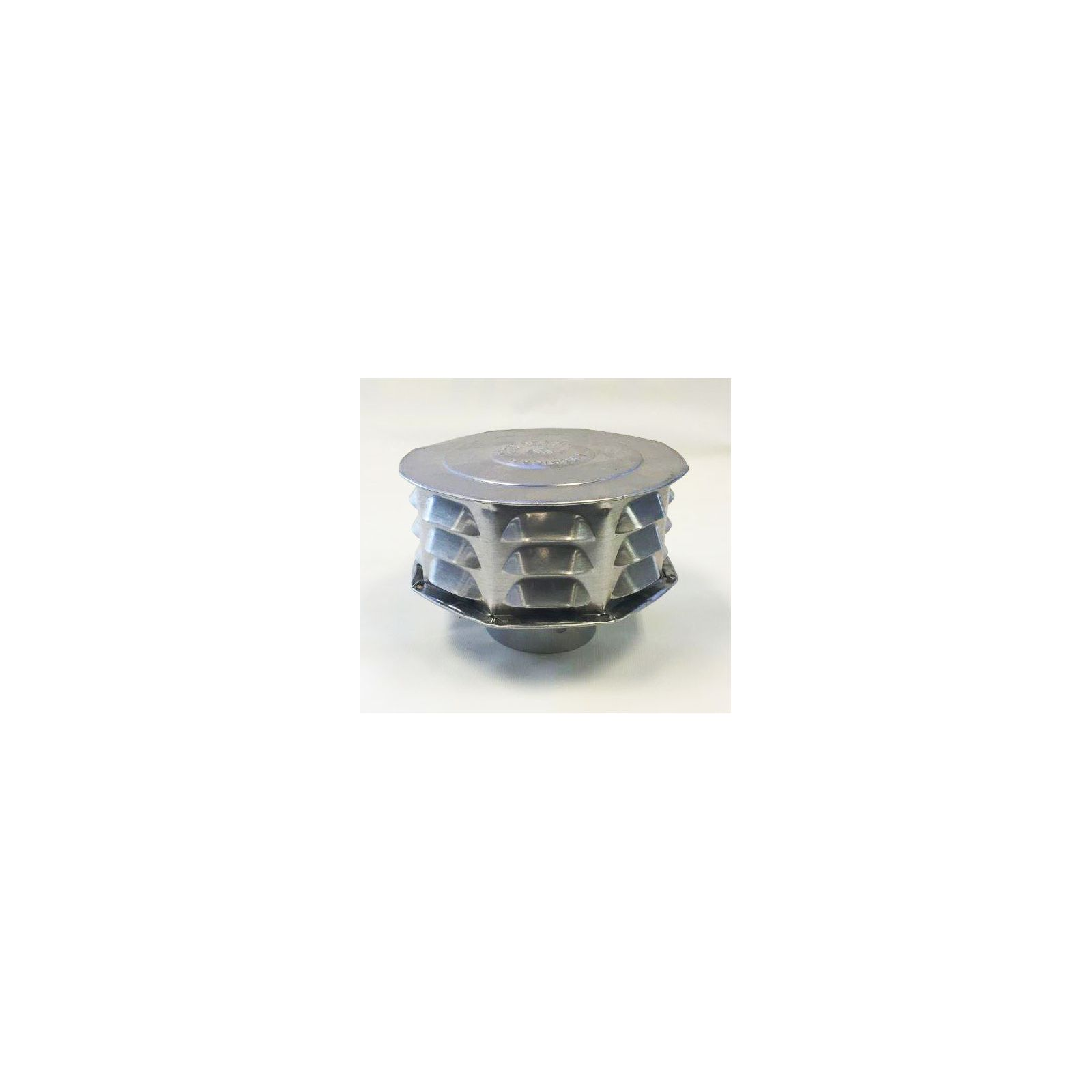 "AmeriVent 3CW - Universal Cap 3"", Louvered"