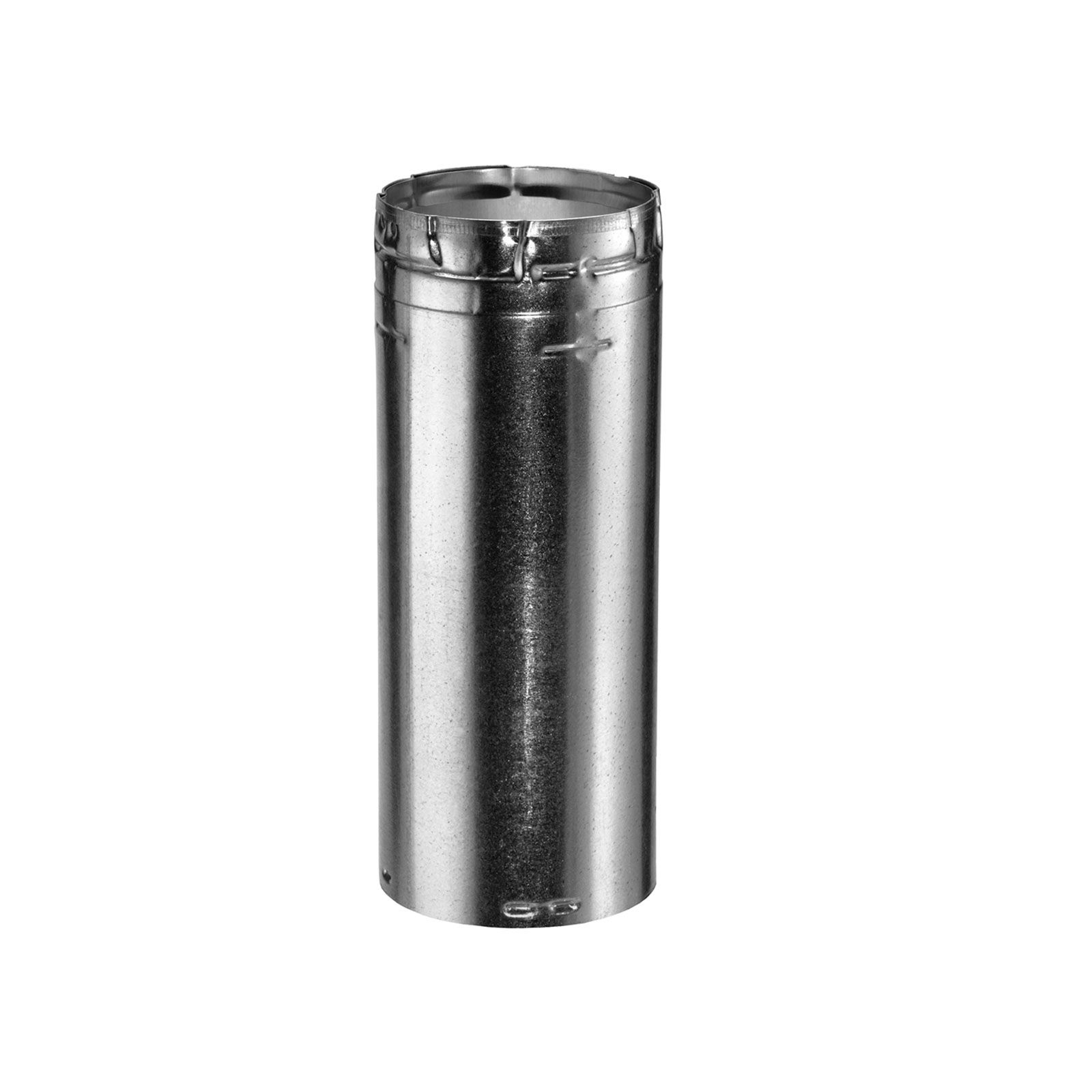 "DuraVent 4GV06 - Aluminum 6"" Length Round Rigid Pipe with 4"" Inner Diameter"