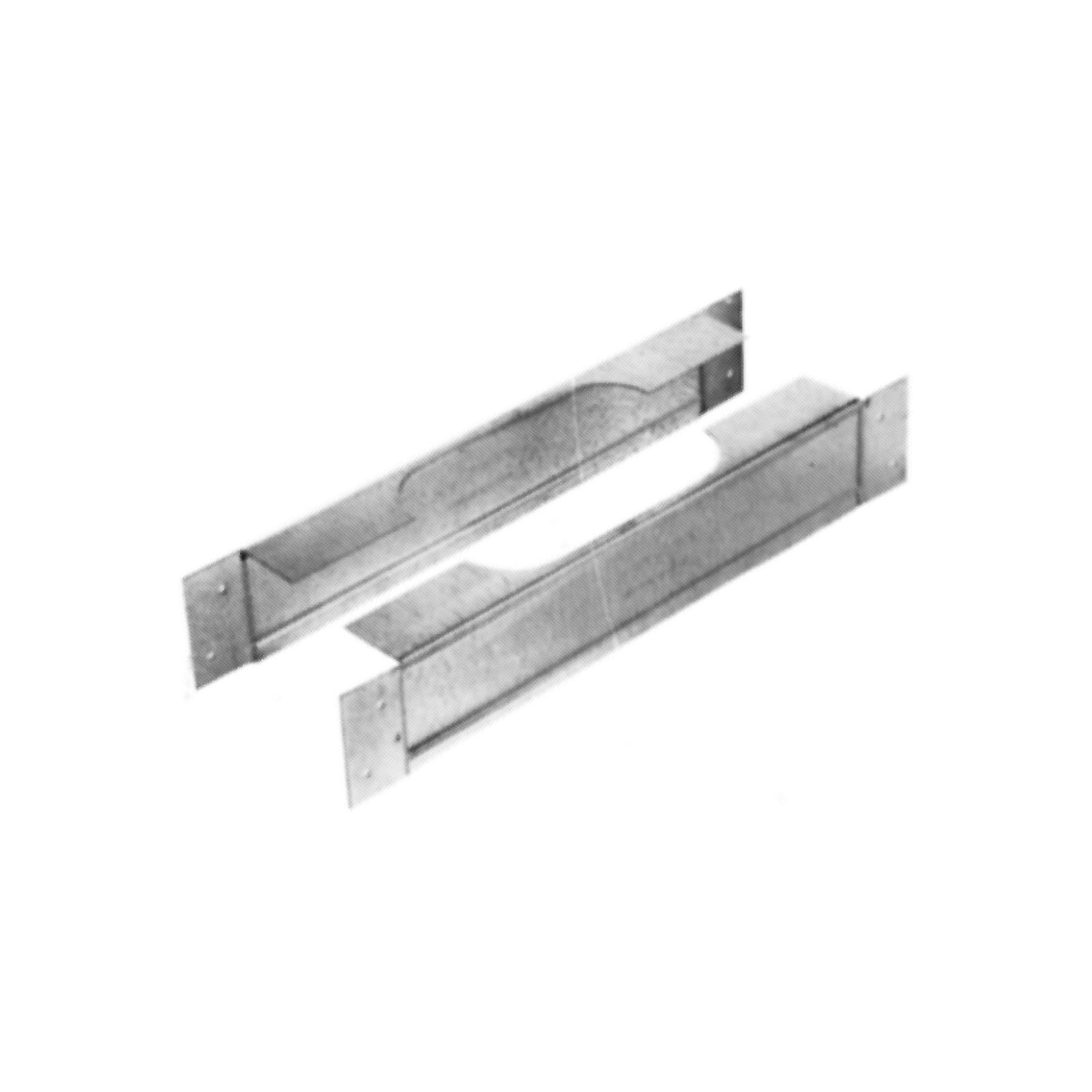 "AmeriVent 40FS - Oval Firestop Spacer, 4"", Wall 2"" X 4"""