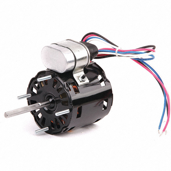 DAYTON 1/25 HP, HVAC Motor, Permanent Split Capacitor, 1550 Nameplate RPM, 115 Voltage, Frame 3.3