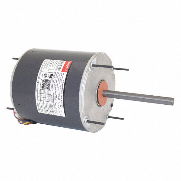 DAYTON 1/3 to DAYTON 1/6 HP Condenser Fan Motor,Permanent Split Capacitor,825 Nameplate RPM,208-230 Voltage,Frame