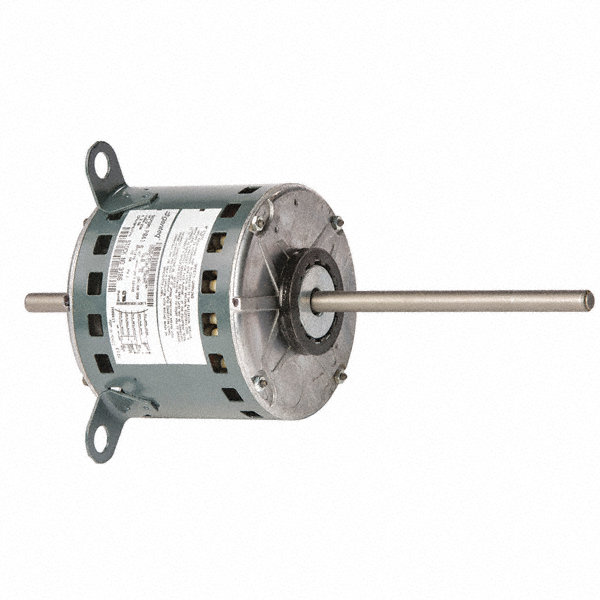 GENTEQ 1/2 HP Direct Drive Blower Motor, Permanent Split Capacitor, 1075 Nameplate RPM, 208-230 Voltage