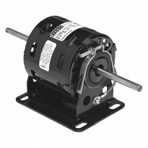 FASCO 1/50 HP Condenser Fan Motor, Shaded Pole, 1550 Nameplate RPM, 115 VoltageFrame Non-Standard