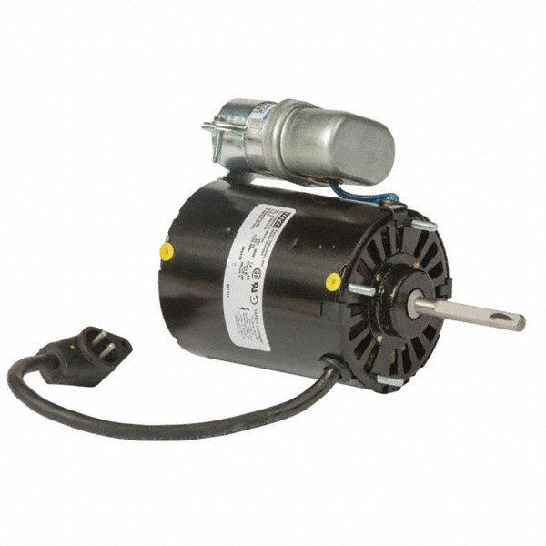 FASCO 1/20 HP Condenser Fan Motor, Permanent Split Capacitor, 1550 Nameplate RPM, 115 Voltage