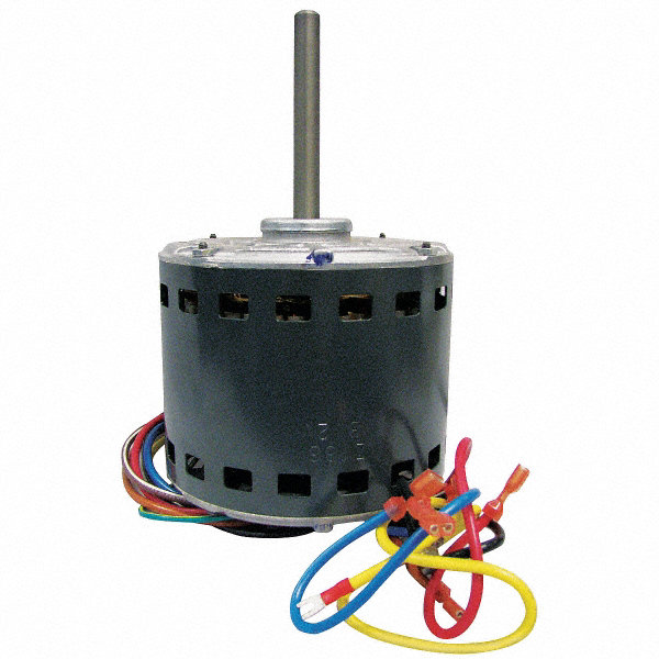 GENTEQ 1/2 HP Direct Drive Motor, Permanent Split Capacitor, 1075 Nameplate RPM, 115 VoltageFrame 48