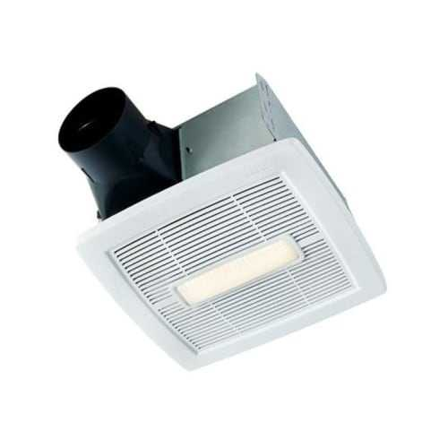 NuTone AEN80BL InVent Series 80 CFM 1.5 Sone Ceiling Mounted HVI Certified Bath Fan