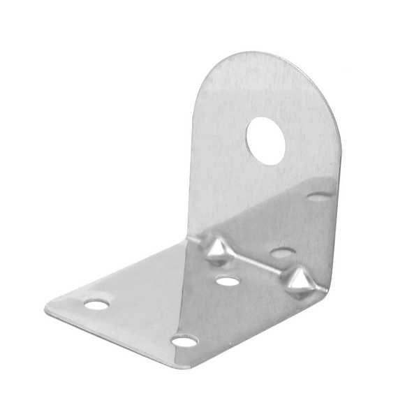 Metal Wall Mounting Bracket Silver Tone for 1/4BSP Faucet Tap