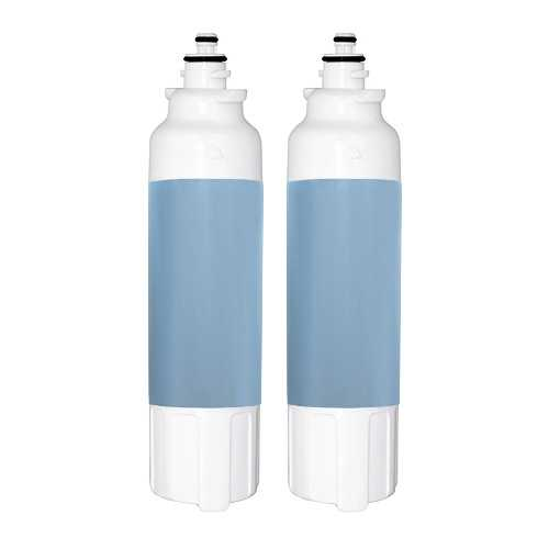 Replacement Water Filter Cartridge for LG LSXS22423W (2-Pack)