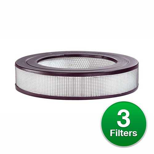 Replacement For Honeywell HRF-F1 HEPA Air Purifier Filter - 3 Pack