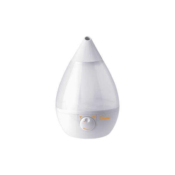 Crane EE-5301W Cool Mist Drop-Shape Humidifier - White
