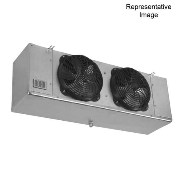 Heatcraft - Bohn - LET090BK - 9,000 BTUH Low Profile Unit Cooler: Electric Defrost (208-230/1/60) (6 Fpi)