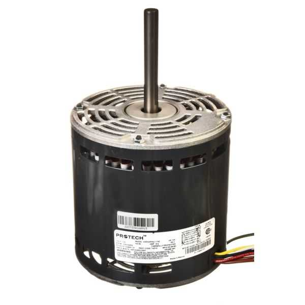 PROTECH 51-104941-01 - Blower Motor - 3/4 HP 120/1/60 (1075 RPM/4 Speed)