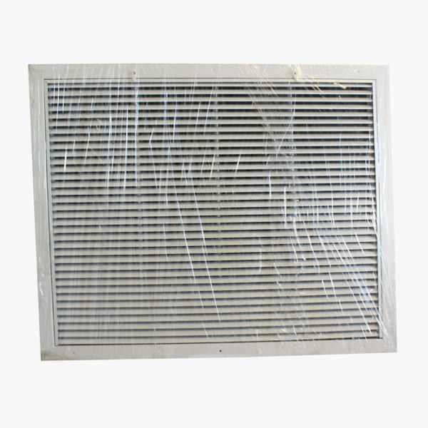 Grille Tech RAFGS3024 - Aluminum Return Air Filter Grille, Grille Size 30' X 24' White