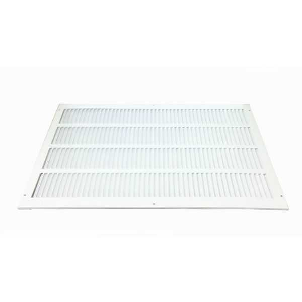 Grille Tech RAGF14X20W - Steel Return Air Filter Grille, 14' X 20' White