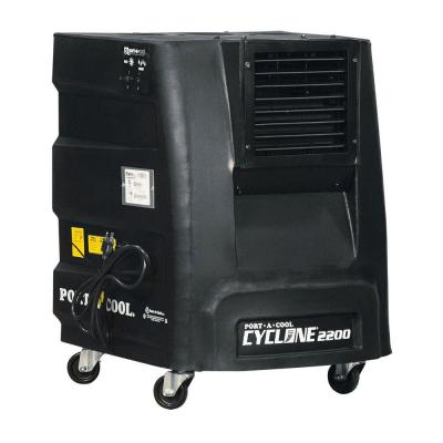 Cyclone 2200 CFM 2-Speed Portable Evaporative Cooler for 500 sq. ft.