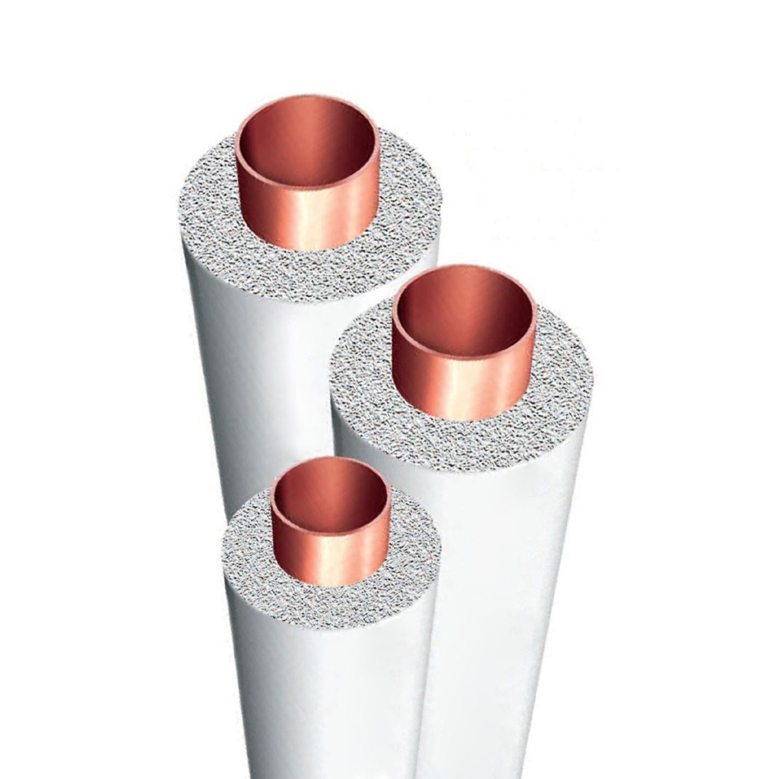 "Aeroflex PE-7812WH - SS Polyethylene Tubing Insulation, 7/8"" ID X 1/2"" Wall Thickness, White, Fits 7/8"" OD Copper Tubing"
