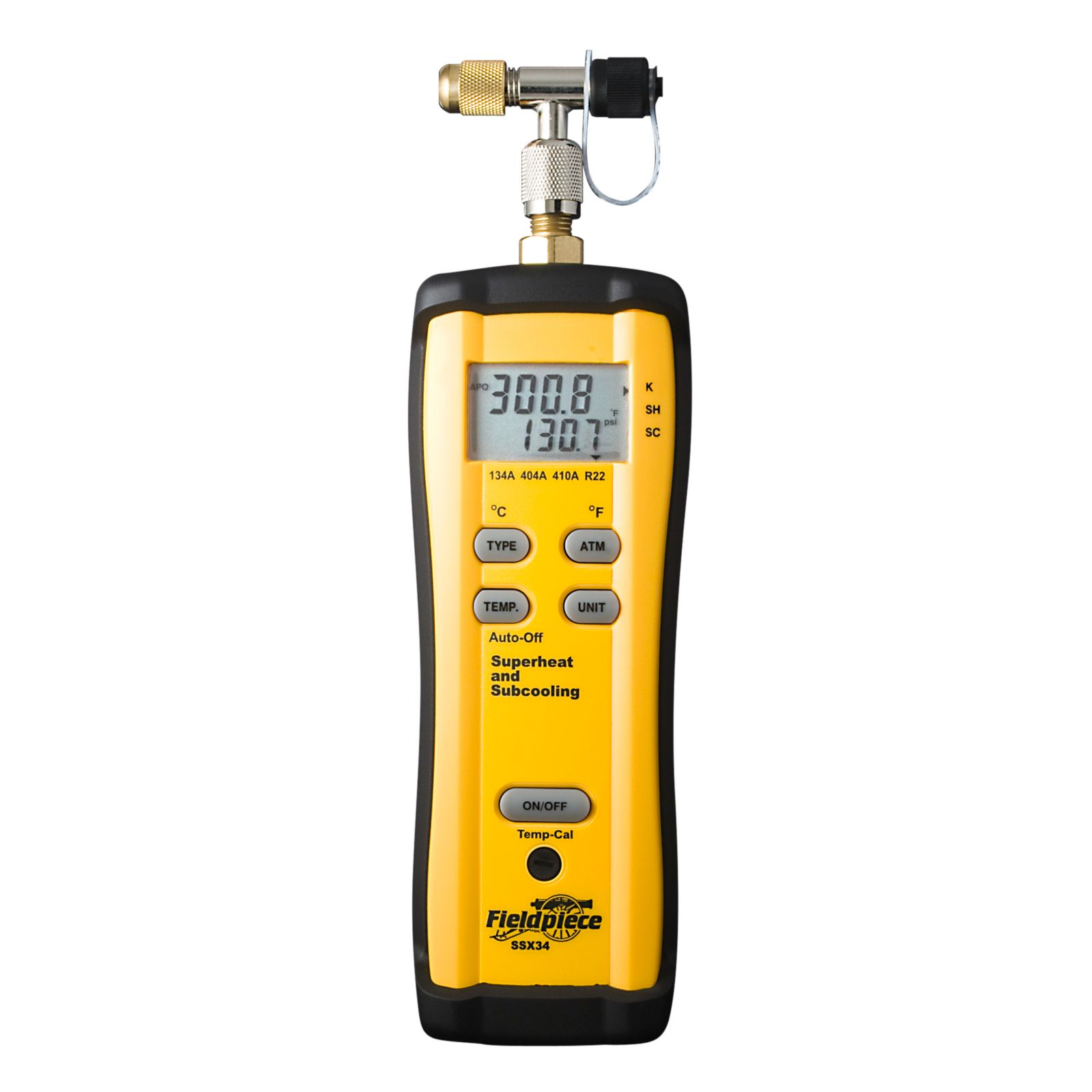 Fieldpiece SSX34 - Superheat amp And Subcooling Charging Meter